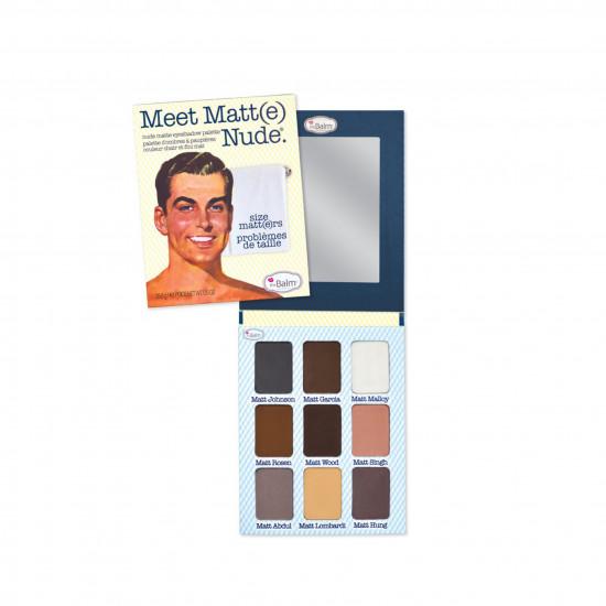 Meet Matte Nude Matte Eyeshadow Palette from The Balm
