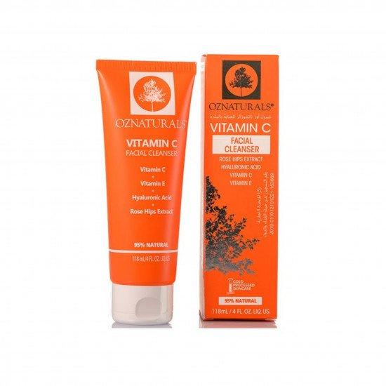 VITAMIN C FACIAL CLEANSER OZ NATURALS - 118 ML
